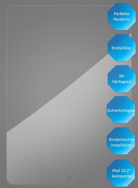"""Premium Schutzglas, für Apple iPad 10,2"""", 7. - 8. Generation, Produkteigenschaften"""